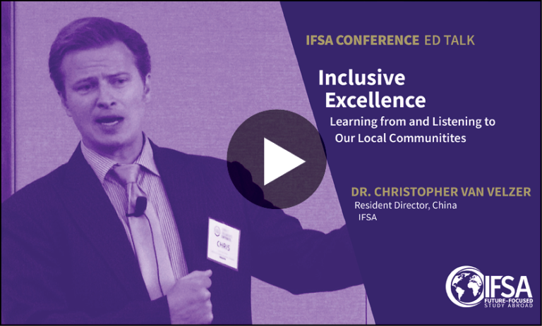 Inclusive excellence at IFSA