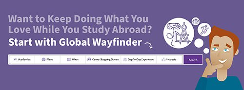 Find your best-fit program with IFSA's Global Wayfinder