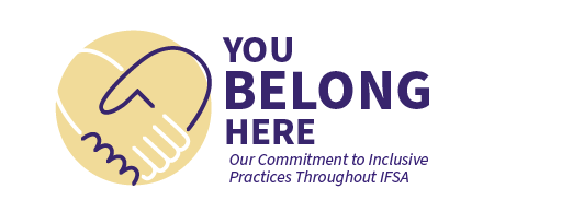 Inclusive Excellence - You Belong Here IFSA