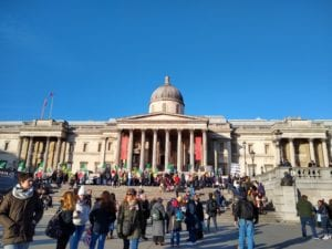 National Gallery in London, by IFSA alum Erica Chin